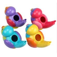 Baby Educational Music Instrumental Bath Toy Lovely Bird Shape Whistle  9.5*6*8cm