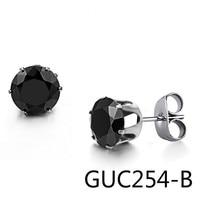 Korean New Pattern Fashion Jewelry Black Girl Student Tai Ganger Nail GE218 Small GUC254