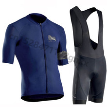 Pro NW Northwave Summer Mens Cycling Jersey Set MTB Bicycle Clothing Breathable Short Sleeve Bike Wear Bib shorts Ropa Ciclismo стоимость