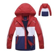 Boy Jackets Warm Polar Fleece Outerwear Sport Jacket Girls Waterproof Windproof Coat 2020 Autumn Children Jacket for Kid Hooded