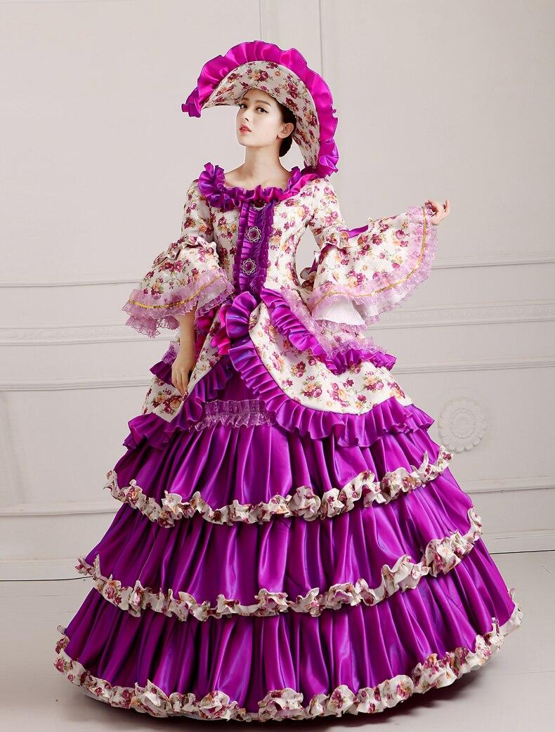 Libre PP lujo victoriano disfraces de Halloween para las mujeres ...
