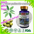 (Buy 3 Get 1 Free) Saw Palmetto Extract Hair Loss Prostate Health 55% fatty acid and sterols 500mg X 100 Softgel capsule