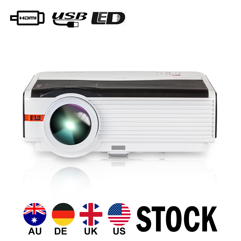 Caiwei Digital Led Projector Home Theater Beamer Lcd: CAIWEI LED Projector Home Cinema Proyector Backyard Party