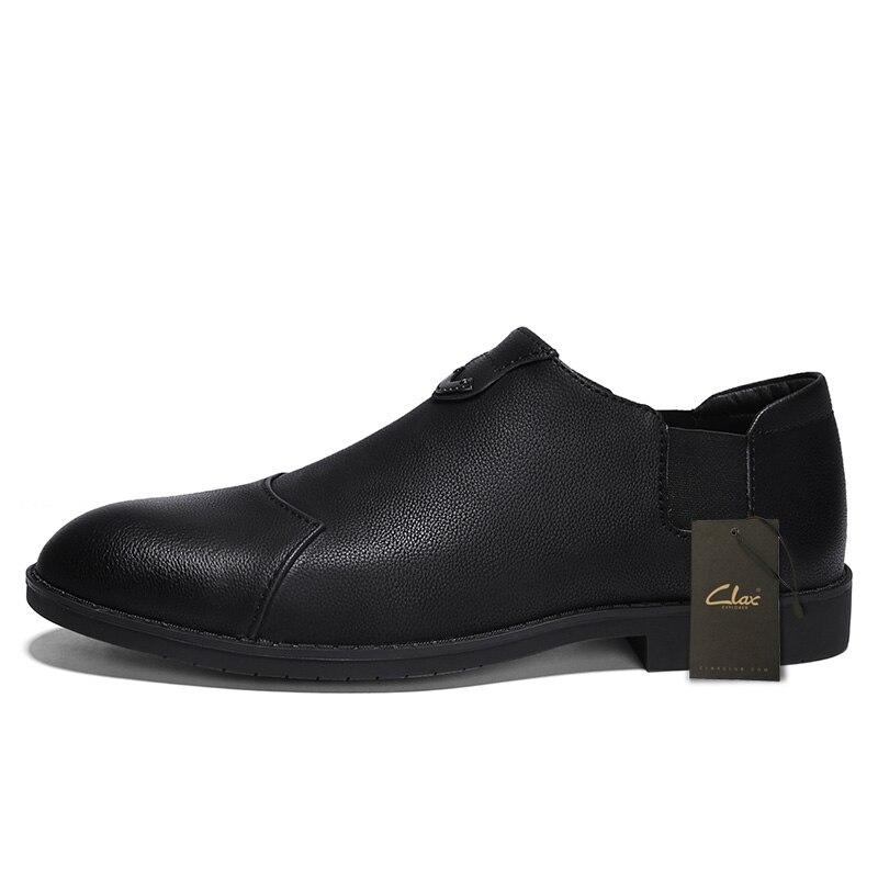 Doux Automne D'été Homme Social Chaussures Marche Mens Cuir Chaussure Clax Mocassins En Casual Black Designer gray Respirant 6U4qxX