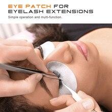 NEWCOME 50/100 paires de coussinets pour les yeux pour Extension de cils sous les yeux masque non pelucheux papier Patch conseils autocollant cils Pad maquillage