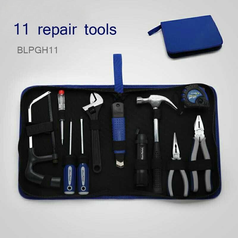 BLPGH11-Home 11 pièces ensemble d'outils généraux matériel outil ensemble réparation outil réparation boîte à outils