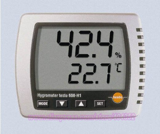 Testo 608-H1 large display digital thermohygrometer humidity/dewpoint/temperature,0560-6081 тепловизор testo 872 0560 8721