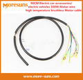 Free Ship 90CM Electric car accessories/electric vehicles 500W Motor wire high temperature brushless Motor cable