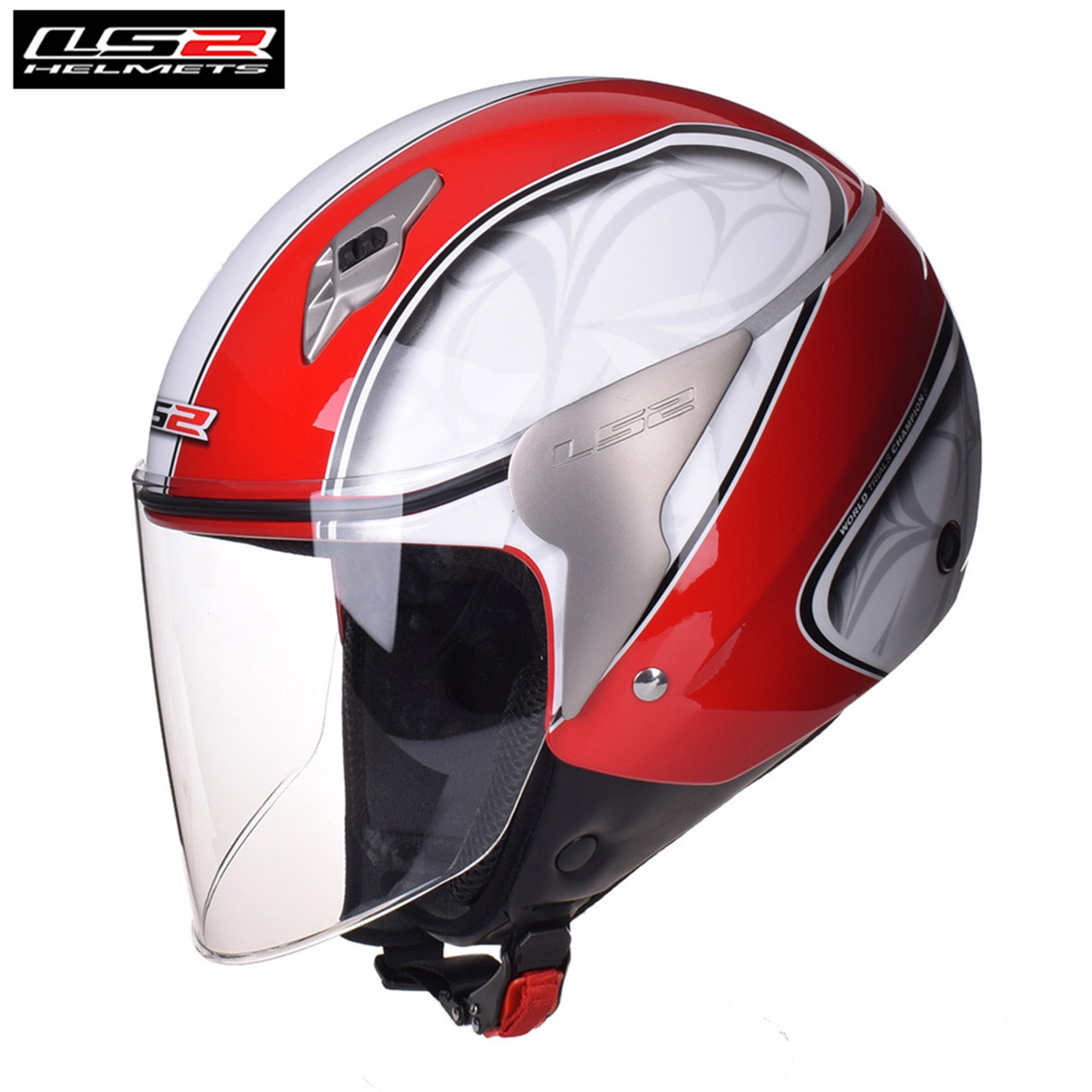 LS2 OF559 Moto 3/4 Open Face Motorcycle Helmet Scooter Jet Moto Motorbike Helmets For Crash Motor Helm Biker Helmets