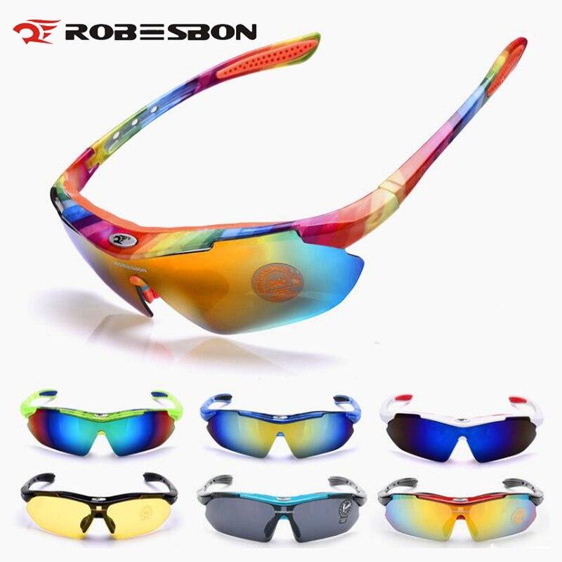 Prix pour Robesbon nuit sport cyclisme lunettes hommes femmes de course de pêche lunettes de soleil uv protéger montagne route vélo vtt lunettes de soleil h7302