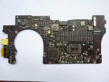 2012years 820-3332 820-3332-A Faulty Logic Board For Apple MacBook Pro A1398 MC975 MC976 retina display repair - Category 🛒 Electronic Components & Supplies