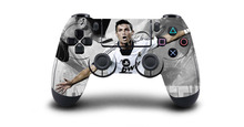 1pc Cristiano Ronaldo PS4 Skin Sticker Decal For Sony PS4 Playstation 4 Dualshouck 4 Game PS4 Controller Sticker