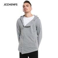 JCCHENFS 2018 New Men S Hoodies Sweatshirts Fashion Streetwear Hip Hop Zipper Hoody Casual Hooded Jacket