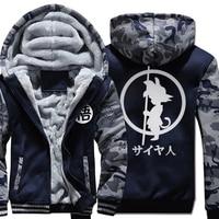 Dragon Ball New Man S Crewneck Jacket 2018 Autumn Winter Men Casual Fleece Thicken Coats Sweatshirt