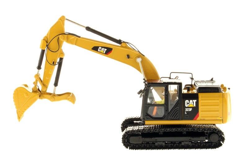 DM 85924 1:50 Katze 323F L Hydraulische Bagger mit Daumen-in Diecasts & Spielzeug Fahrzeuge aus Spielzeug und Hobbys bei  Gruppe 1