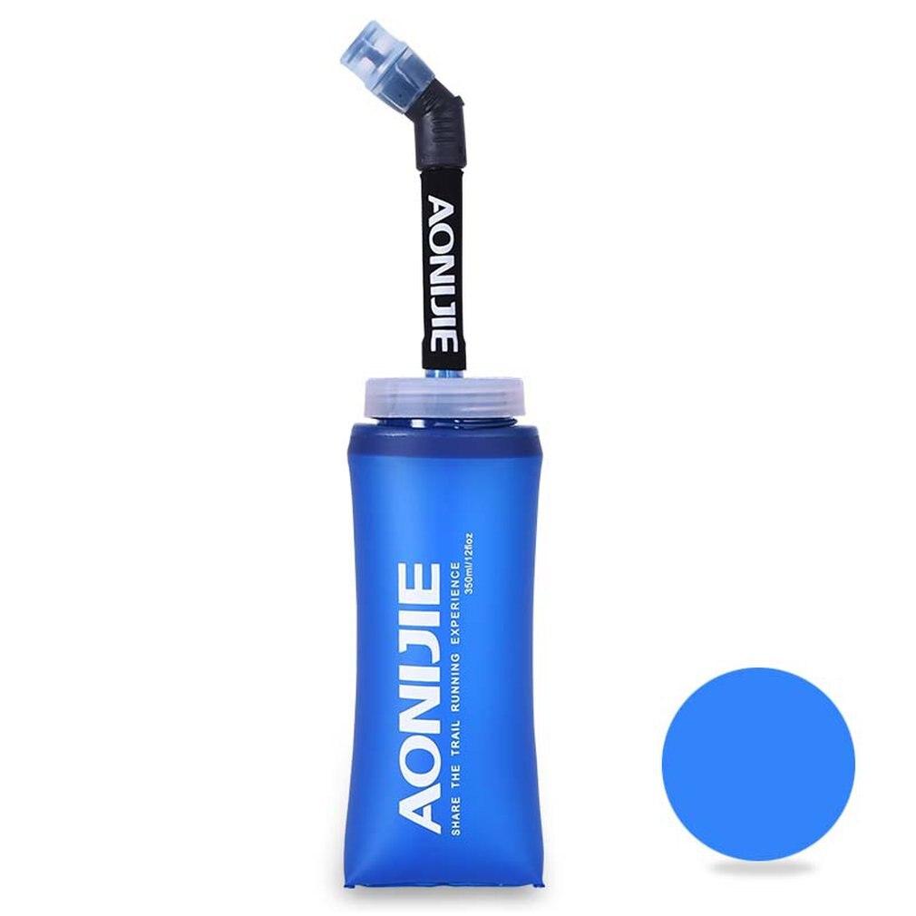 350 ml 650 ml Sport BPA Frei Faltbare Faltbare Weiche Wasser Tasche Wasser Flasche Wasserkocher Kolben Trink Pack Blase