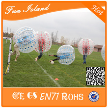 Free shipping 1 2m 1 0mm TPU inflatable bumper bubble soccer zorb ball bumper ball for
