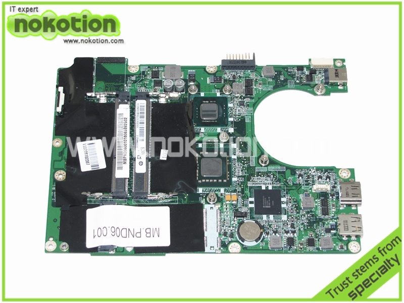 ФОТО PN MBPND06001 DA0ZE8MB6E0 Laptop motherboard for acer 1820TP 1820 Mainboard Mother Boards High Quality