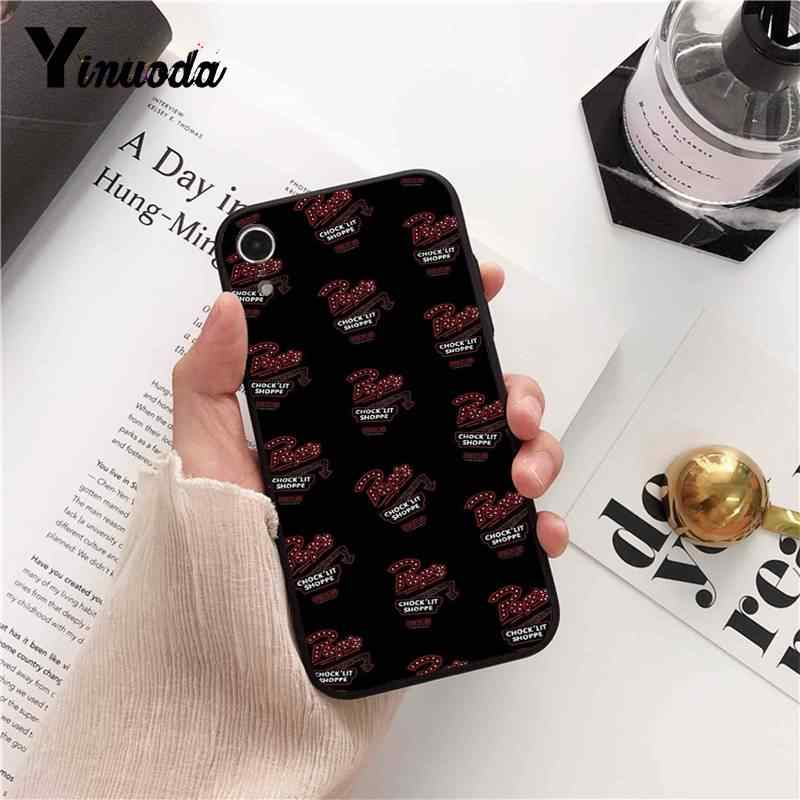 Yinuoda Американский ТВ ривердейл серии Cole Sprouse крышка-задняя панель с логотипом черный чехол для телефона для iPhone 8 7 6 6 S 6 Plus X XS Макс 5 5S SE XR 10