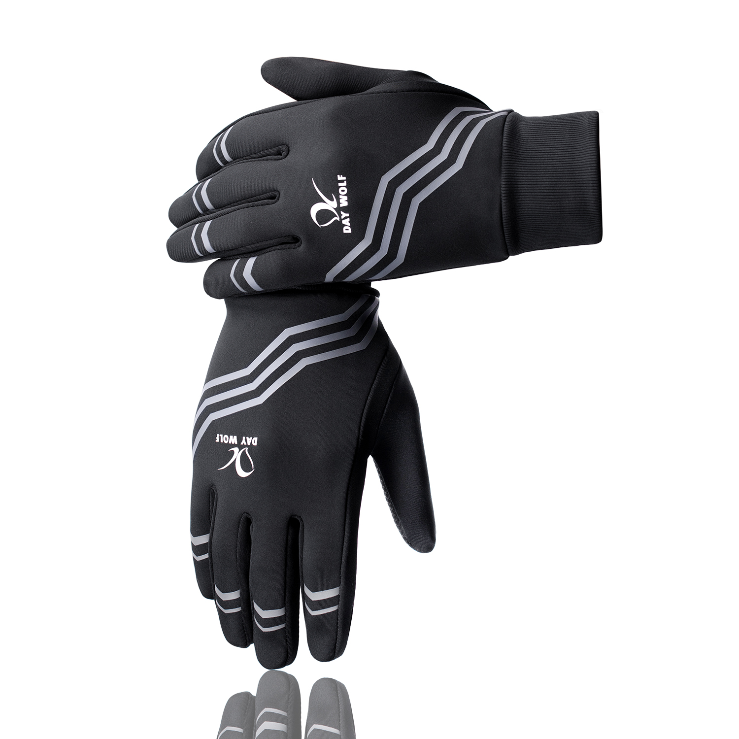 Genuine Day Wolf explosion models outdoor sports gloves touch screen bicycle riding long finger