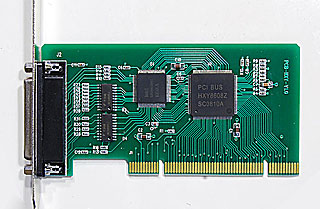 HCT-001 Hengtong PCI To Parallel Standard Address, Parallel Port Card, Industrial Level PCI Parallel Port Card