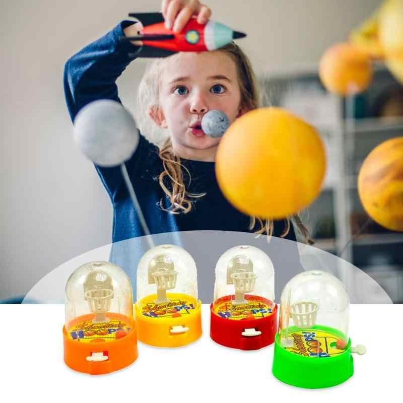 ألعاب كرة سلة صغيرة محمولة باليد لعبة إصبع آلة ألعاب مكتبي ألعاب أطفال ألعاب تدريب هدايا أداة عشوائية