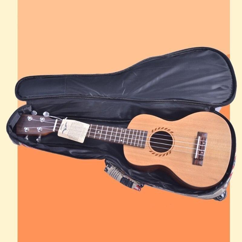 Free shipping Ukulele 21 23 26 inch cotton bag, thickening guitar small newspaper design package электрический камин к к alex bauman bellagio a 29 фронтальный дуб средний к42 с в ab 02 29 wm067к42 839280