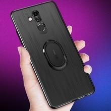 все цены на 360 finger Ring Case for Huawei p20 litepro Mate 20 Lite magnet kickstand Coque Cover for Huawei Nova 3 3i 2s  3e Mate20X Case