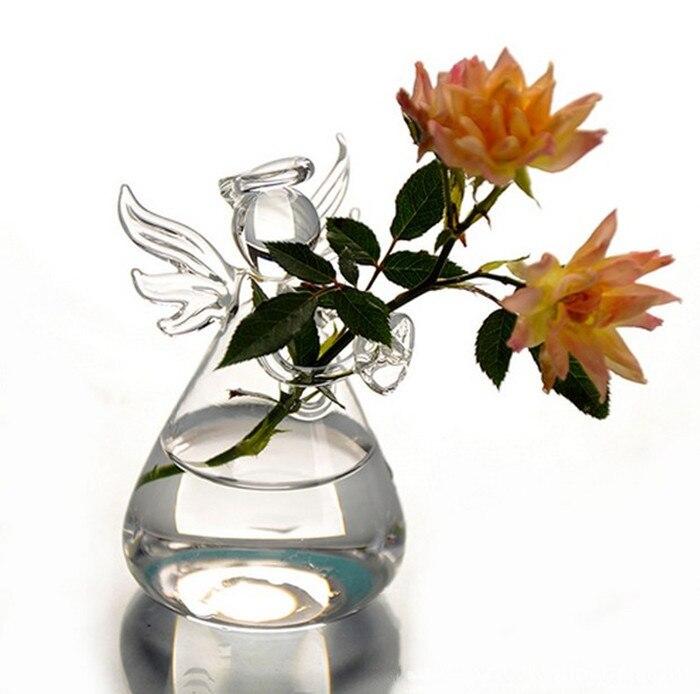 Nový příjezd Valentýn dárek Angel Váza Ručně vyráběná květina váza domácí dekorace móda Dovolená dárek k narozeninám dárek