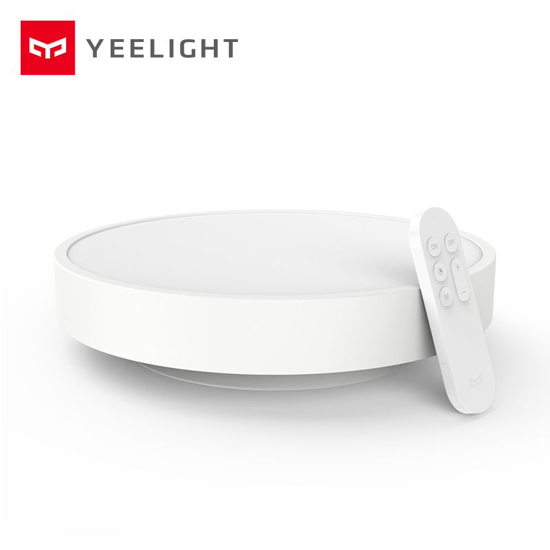 Oringinal Xiaomi Yeelight Smart APP Remote Control LED Ceiling Lamp Bed Room Lights Cell Phone Mijia Or Bluetooth Control in stock original xiaomi yeelight smart ceiling light lamp remote app wifi bluetooth control smart led colorfull ip60 dustproof