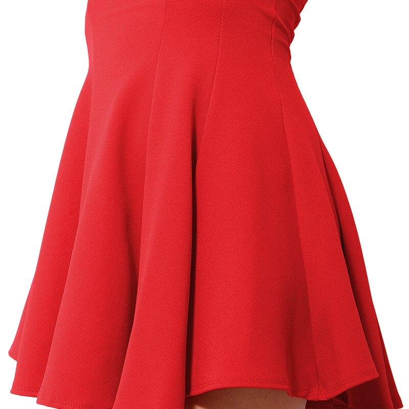 7541d5ea74be Hot Sale Korean Designer Women Dresses Sexy Strapless Red Dresses For Women  Elegant Red Party Dresses Women Clothing Fr926-in Dresses from Women's  Clothing ...