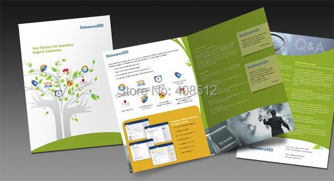 Online Buy Wholesale z fold brochure printing from China z fold ...