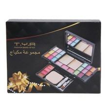 2016 Makeup Palette 18 Color Eyeshadow Lip Gloss Blush Powder Naked Face Concealer Contour Mirror Puff Professional Make up Set