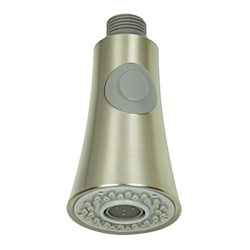 Free Shipping Dual Function Pull Down Out Kitchen Shower Faucet Spray Head Replacement Head Brushed Nickel