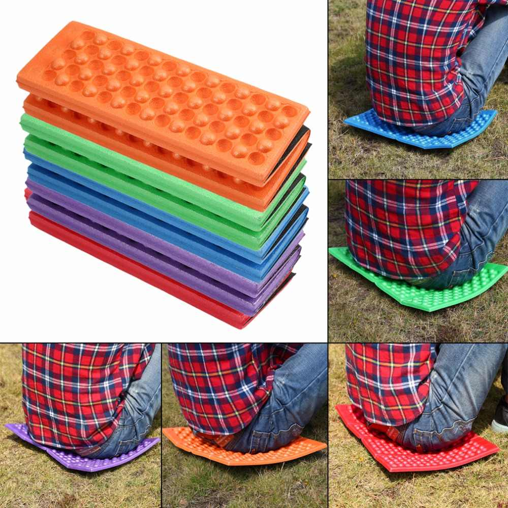 Foldable Folding Outdoor Camping Mat Seat Foam XPE Cushion Portable Waterproof Chair Picnic Mat Pad 5 Colors new
