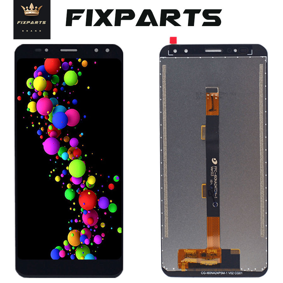 Tested New Black LCD 6.0 Ulefone Power 3 LCD Display Touch Screen Digitizer Assembly Replacement Ulefone Power 3S LCD Screen