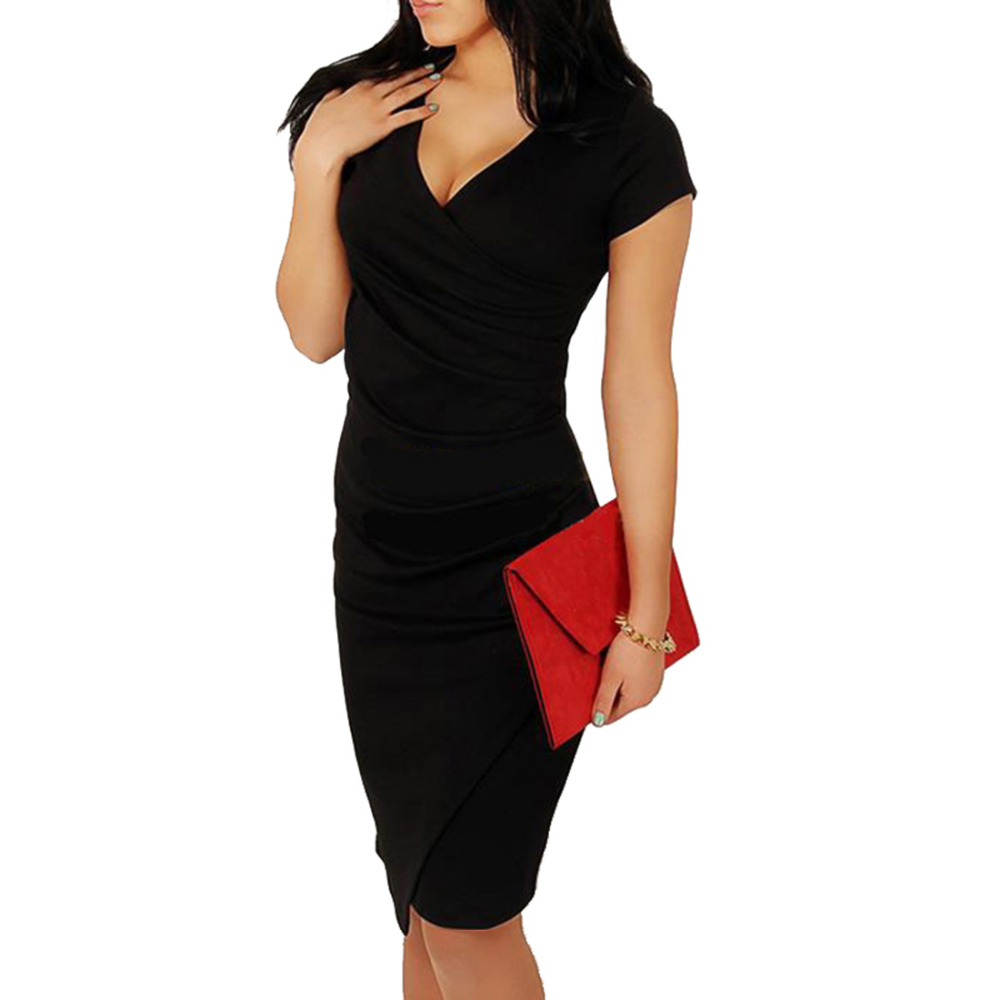 Wholesale Hot Sale New Fashion V-neck Short Sleeve Irregual Tail Pencil  Party Evening Sexy d9af16be2b6e