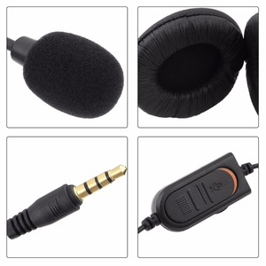 Image 5 - kebidu Wired Headphone With Microphone audio Mute switch Game Earphone Noise Cancelling Headset for Sony PS4 Computer PC Gaming