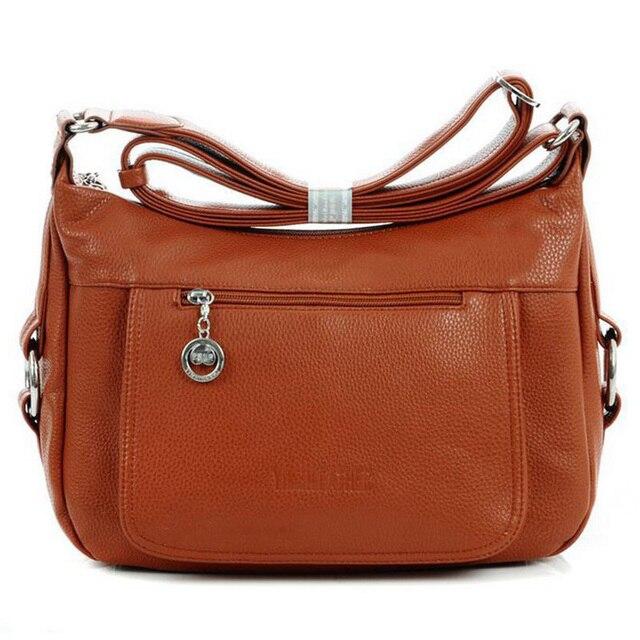 Novas mulheres da moda saco do mensageiro do vintage bolsa de ombro ocasional tronco pu senhoras de couro bolsa de alta qualidade saco de marca S-108