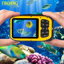 FOOANG portable video digital camera mini camera No case shell waterproof 10m action outdoor sport dv LCD Display HD