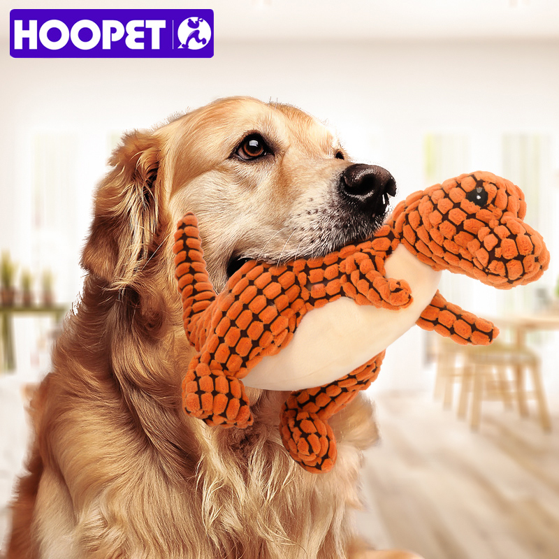HOOPET perro juguete peluche cachorros resistente a morder Molar interactiva juguetes para mascotas
