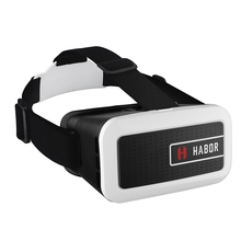 Habor 3D VR Glasses Virtual Reality Headset VR Box & Adjustable Lens for 4.0 – 6.0 inches Smartphones