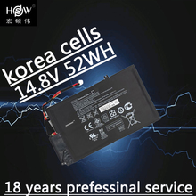 52wh 14.8V Battery for HP EL04XL TPN-C102 HTSNN-UB3R IB3R ENVY 4 681879-1C1 HSTNN-IB3R 4-1001 batteria akku