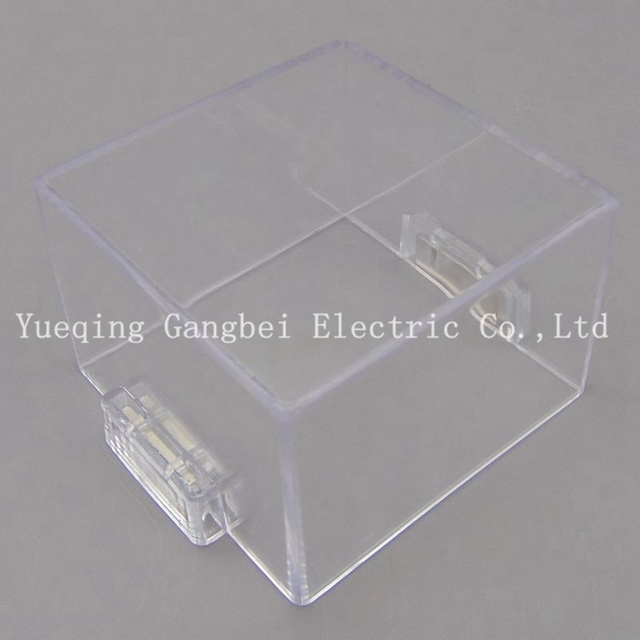 outlet store 84e77 477b7 US $3.0 |Magnetic button protective cover with magnet square transparent  protection cover seat distribution cabinet special-in Switches from Lights  & ...