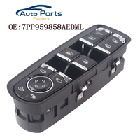 Front Left ABS Driver Side Electric Power Window Switch For Porsche/Panamera Cayenne Macan 2010 2011 2012 2013 7PP959858AEDML
