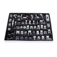 52 Pcs Sewing Machine Foot Domestic Industrial Sewing Machine Presser Foot Set Feet Kit Sewing Machine