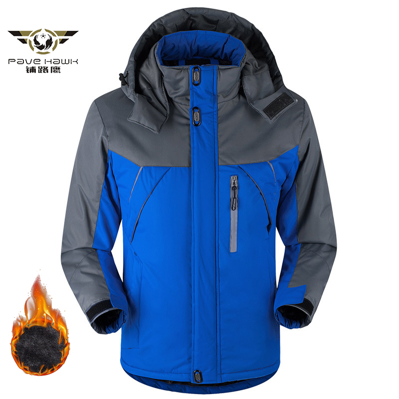 Winter   Down   Jacket Men   Down   Parka Thermal Fleece Jacket   Coats   Men Windproof Waterproof Windbreaker jaqueta   Coats   Men Size M-5XL