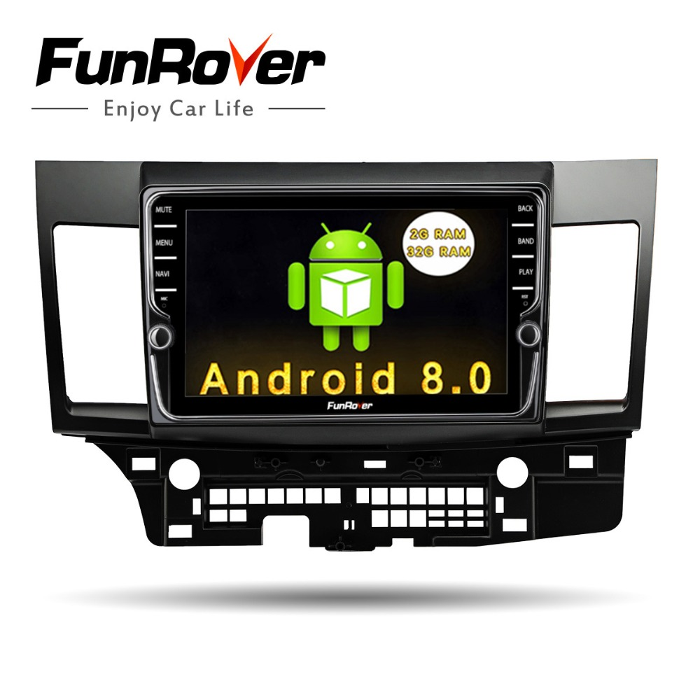 Funrover Android 8.0 Car Radio Multimedia dvd player 9 2 din For Mitsubishi Lancer 2007-17 headunit car gps navigation stereo Funrover Android 8.0 Car Radio Multimedia dvd player 9 2 din For Mitsubishi Lancer 2007-17 headunit car gps navigation stereo