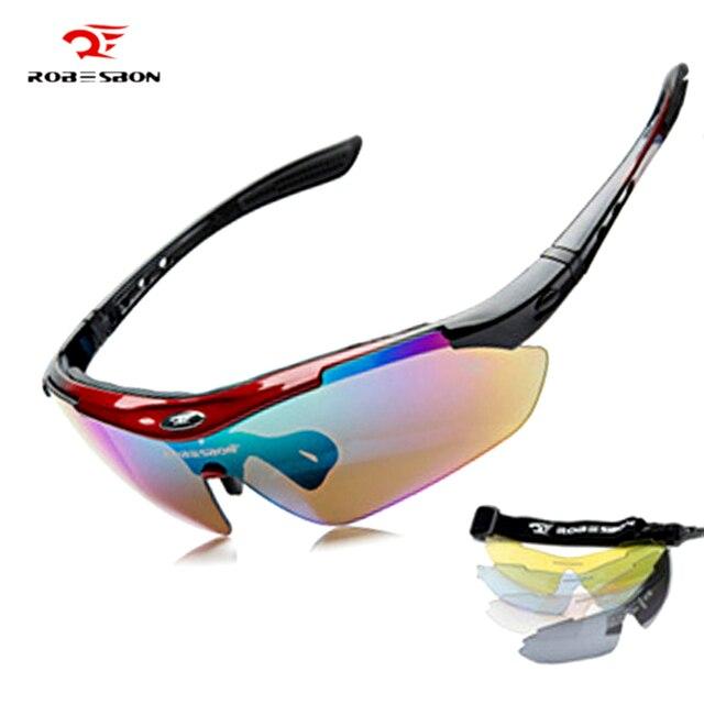 fabe8373d 5 lente Homens MTB Ciclismo Óculos Óculos de Desporto Ao Ar Livre Mountain  Bike Bicicleta Motocicleta