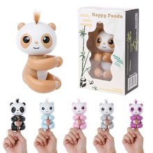 New Hot Cute Toys For Boys Kids Girls Spot Smart Finger Monkey Colorful Fingertip panda Christmas Gifts One Piece(China)